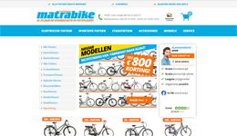 Screenshot Matrabike.nl