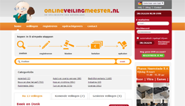 Screenshot Onlineveilingmeester.nl